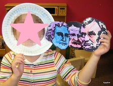 Mount Rushmore Mask Craft for President's Day