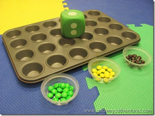 Cupcake Tin Grid Games