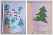 Printable Booklet - My Five Senses of Christmas!