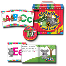 Alphabet Animal Friends Early Readers Boxed Set