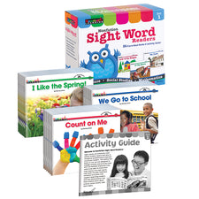 Nonfiction Sight Word Readers Early Readers Boxed Set, Set 1