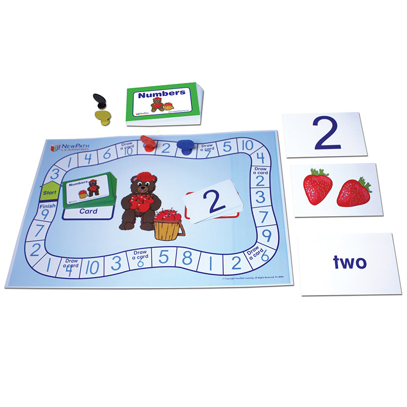 Learning Center: Numbers 1-10, Grades K-1