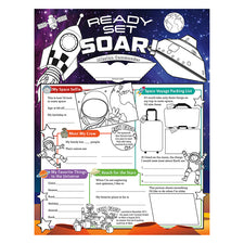 Fill Me In: Ready Set Soar! Activity Posters