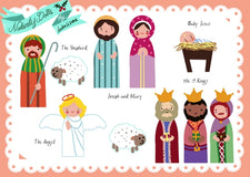 Nativity Paper Dolls