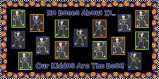 """No Bones About It..."" Halloween Bulletin Board Idea"