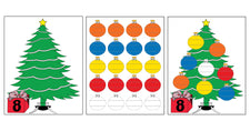 Printable Christmas Ornament Counting Activity!