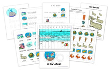 Ocean Themed Preschool Pack