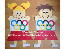 We Are TEAM Players! - Olympics Themed Back-To-School Bulletin Board