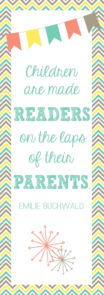 Bookmarks for Parents - Great Freebie for Open House!