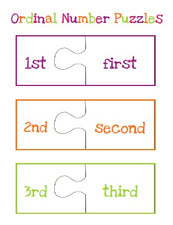 Ordinal Number Puzzles