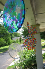 Colorful Melted Bead Suncatchers - or Ornaments!
