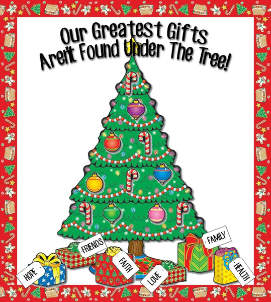 Our Greatest Gifts Christmas Bulletin Board Idea Supplyme