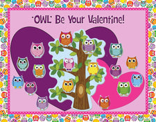 Owl' Be Your Valentine! - Valentine's Day Bulletin Board