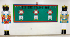 Tis The Season! - Christmas Nutcracker Bulletin Board