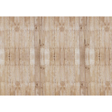 "Corobuff® Corrugated Weathered Wood Background Paper Roll, 48"" x 12.5'"