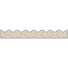 Bordette® Decorative Bulletin Board Border, Vintage Lace