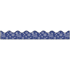 Bordette® Decorative Bulletin Board Border, Bandana