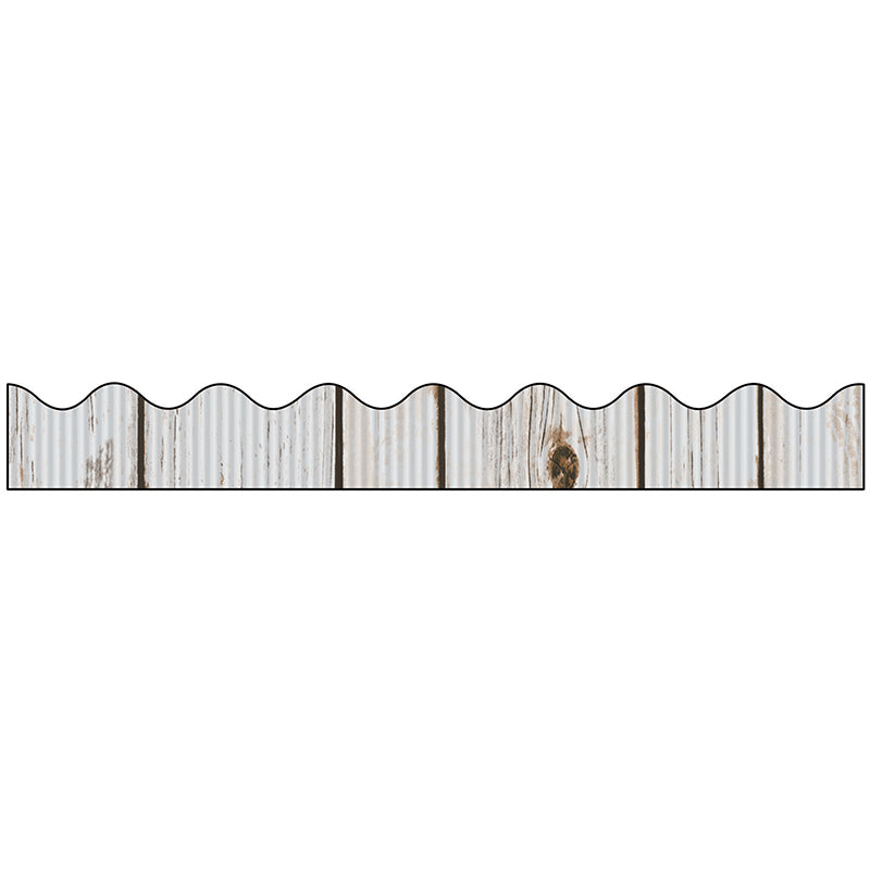 Bordette® Decorative Bulletin Board Border, Beach Wood