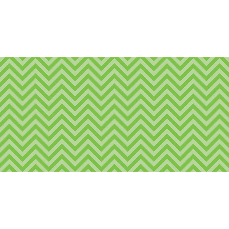 Fadeless® Chic Chevron Lime Paper Roll, 48″ x 50′