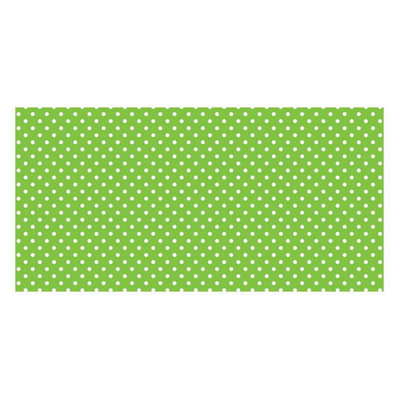 Fadeless® Classic Dots Lime Green Paper Roll, 48″ x 50′