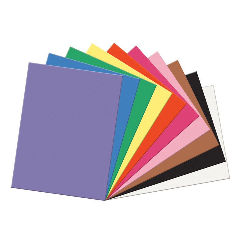 "Sunworks® Construction Paper, 18"" x 24"" Assorted Colors"