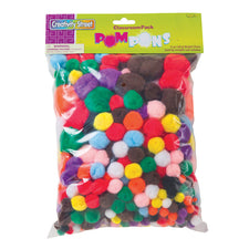 Creativity Street® Unique Pom Pons, Classroom Pack