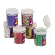 Spectra® Glitter Assortment, 6 Colors
