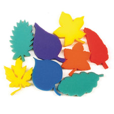 "Creativity Street® Paint Sponges, 3"" Leaves"