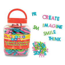 WonderFoam® Magnetic Letters with Consonant Blends