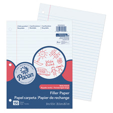 Pacon® Wide Rule Filler Paper, 150 Sheets