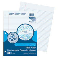Pacon® College Rule Filler Paper, 150 Sheets