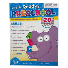 Let's Get Ready for Preschool Workbook