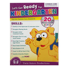 Let's Get Ready for Kindergarten Workbook