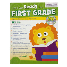 Let's Get Ready for First Grade Workbook