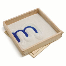 Letter Formation Sand Tray, Set of 4