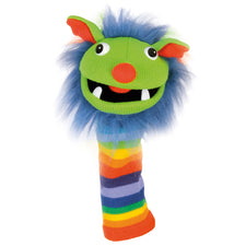Knitted Puppet, Rainbow