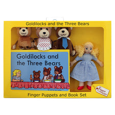 Traditional Story Sets: Goldilocks & The Three Bears
