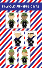 ABC Cards for Veterans Day!