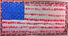 Patriotic American Flag Handprint Bulletin Board Idea