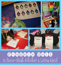Penguin Unit: 12 Brrrr-illiant Activities & Lesson Ideas!