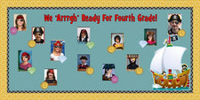 We 'Arrrgh' Ready For Fourth Grade! - End of the Year Bulletin Board