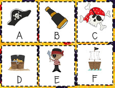 Fun Pirate Games - with FREE Printables!