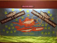 """Teaching & Learning!"" Planes Inspired B2S Bulletin Board"