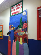 For Those Who Truly Believe! - Christmas Bulletin Board