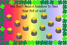 Find Your Pot of Gold! - St. Patrick's Day Bulletin Board Idea