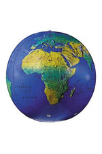 Inflatable Topographical Globe 12In