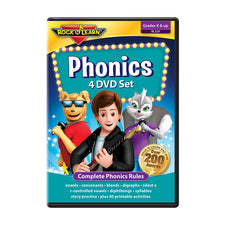 Phonics, 4 DVD Set