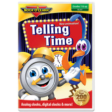 Rock 'n Learn Telling Time DVD