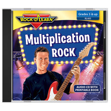 Rock 'n Learn Multiplication Rock CD
