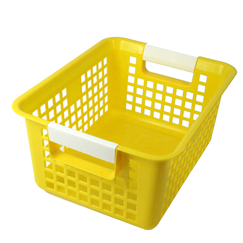 Book Basket, Yellow